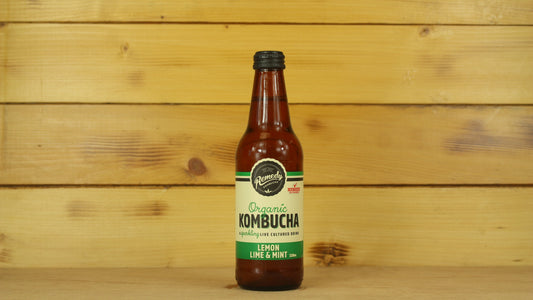 Remedy Kombucha Lemon Lime Mint 330ml Drinks > Juice, Smoothies & More