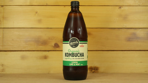 Lemon Lime Mint Organic Kombucha 330ml