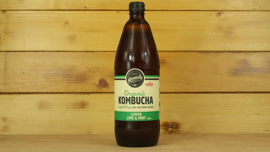 Remedy Kombucha Lemon Lime Mint 750ml Drinks > Juice, Smoothies & More