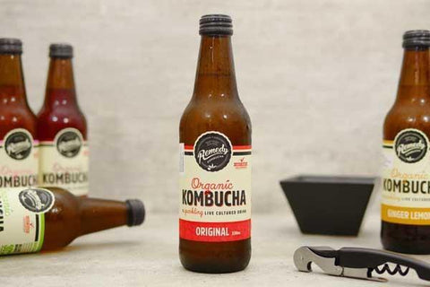 Organic Apple Crisp Kombucha 330ml