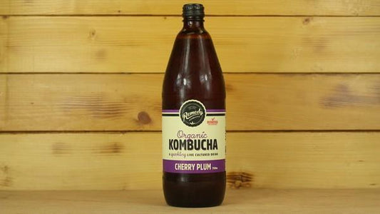 Remedy Kombucha Rko Cherry Plum 750ml Drinks > Juice, Smoothies & More