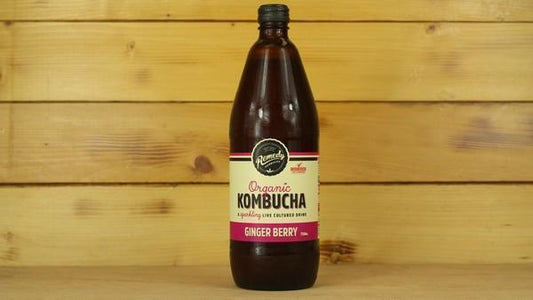 Remedy Kombucha Rko Ginger Berry 750ml Drinks > Juice, Smoothies & More