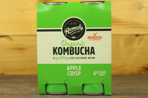 Apple Crisp Organic Kombucha 330ml