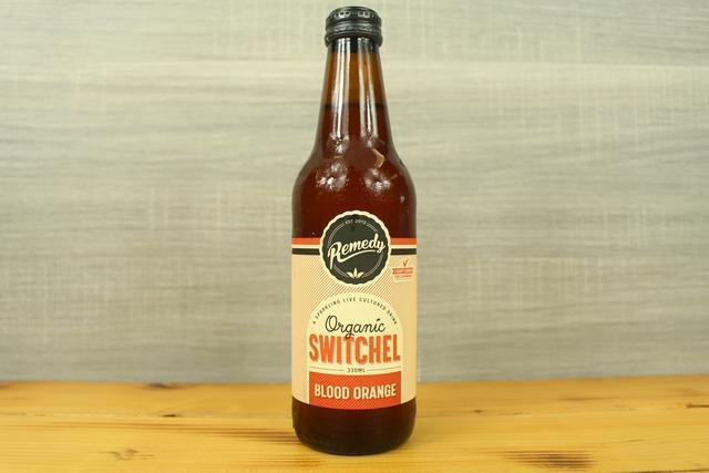 Remedy Kombucha Rko Switchel Blood Orange 330ml Drinks > Juice, Smoothies & More