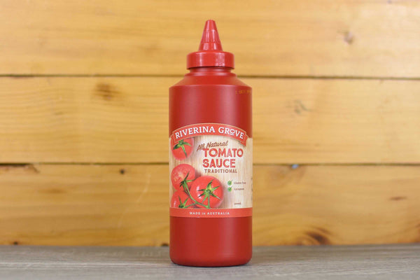 Riverina Grove Traditional Tomato Sauce 500ml Pantry > Condiments