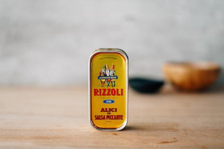 Rizzoli Anchovies in Spicy Sauce 90g Pantry > Canned Goods