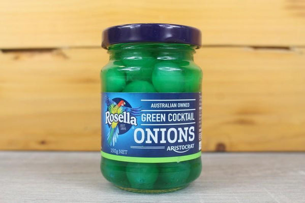 Rosella Green Cocktail Onions 150g Pantry > Antipasto, Pickles & Olives