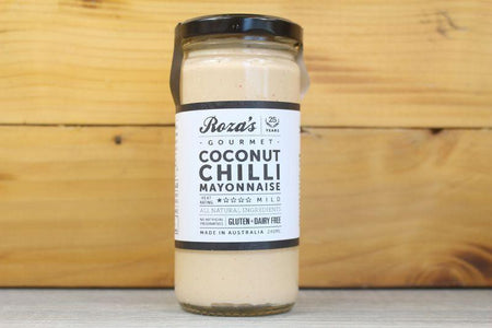 Roza's Gourmet Coconut Chilli Mayonnaise 240ml Deli > Fresh Sauces, Condiments & Dressings