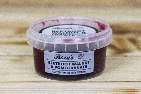 Roza's Gourmet Sauces Beetroot Walnut & Pomegranate Dip 180g* Deli > Fresh Dips & Salsas