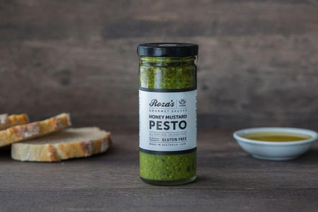 Roza's Gourmet Sauces Honey Mustard Pesto 240ml* Deli > Fresh Sauces, Condiments & Dressings