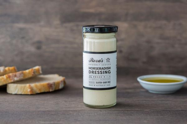 Roza's Gourmet Sauces Horseradish Dressing 240ml* Deli > Fresh Sauces, Condiments & Dressings