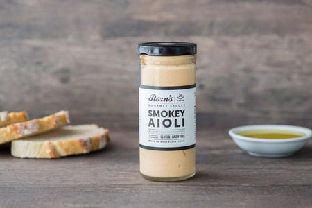 Roza's Gourmet Sauces Smokey Aioli 240ml* Deli > Fresh Sauces, Condiments & Dressings