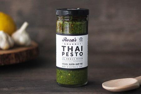 Roza's Gourmet Sauces Thai Pesto 240ml* Deli > Fresh Sauces, Condiments & Dressings