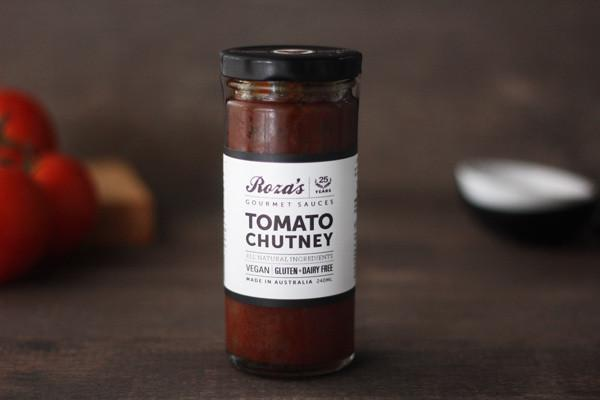 Roza's Gourmet Sauces Tomato Chutney 240ml* Deli > Fresh Sauces, Condiments & Dressings