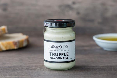 Roza's Gourmet Sauces Truffle Mayonnaise 140ml* Deli > Fresh Sauces, Condiments & Dressings