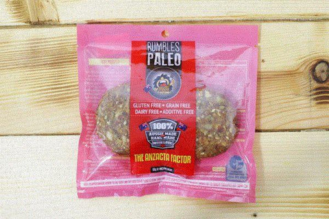 Rumbles Paleo Anzacta Factor 60g Pantry > Cookies, Chips & Snacks