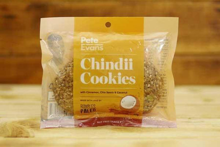Rumbles Paleo Chindii Cookies 60g Pantry > Cookies, Chips & Snacks
