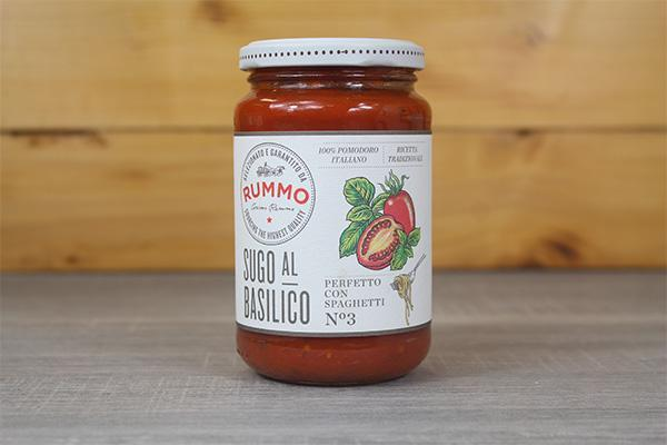 Rummo Al Basilico Sauce 350g Pantry > Canned Goods