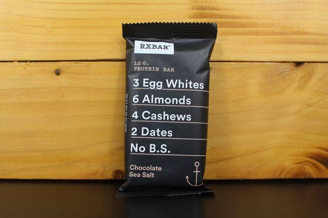 RX Choco Sea Salt Protein Bar 52g Pantry > Granola, Cereal, Oats & Bars
