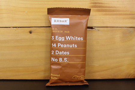 RX Peanut Butter Protein Bar 52g Pantry > Granola, Cereal, Oats & Bars