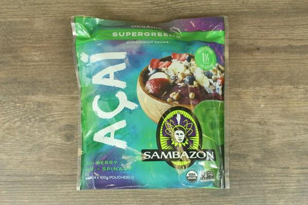 Sambazon Sambazon Superfruit Packs - Supergreens Freezer > Acai