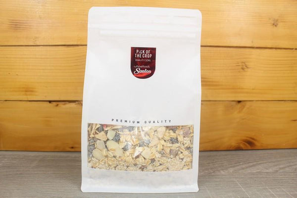 Santos Creamy Oats with Apple, Peach & Almond 500g Pantry > Granola, Cereal, Oats & Bars