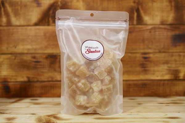 Santos Cystallized Ginger 500g Pantry > Dried Fruit & Nuts