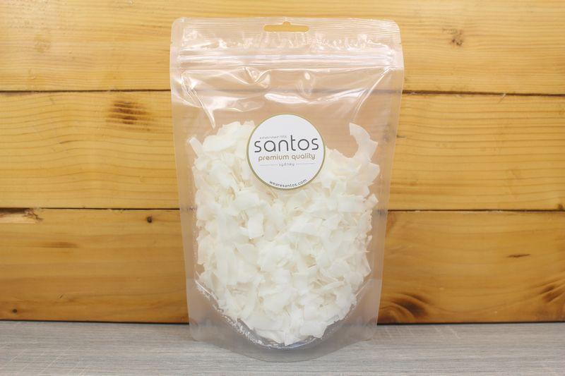 Santos Dessicated Coconut Chips 125g Pantry > Dried Fruit & Nuts