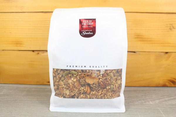 Santos Maple Pecan & Figs Clusters 500g Pantry > Granola, Cereal, Oats & Bars