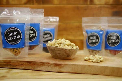 Santos Raw Jumbo Cashews 100g Pantry > Dried Fruit & Nuts