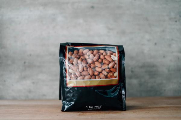 Santos Raw Peanuts with Skin 1kg Pantry > Dried Fruit & Nuts