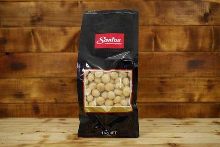 Santos Raw Whole Macadamias 1kg Pantry > Dried Fruit & Nuts
