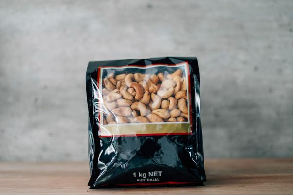 Santos Salted Cashews 1kg Pantry > Dried Fruit & Nuts