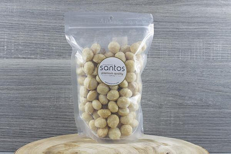 Santos Santos Salted Macadamias 500g Pantry > Dried Fruit & Nuts