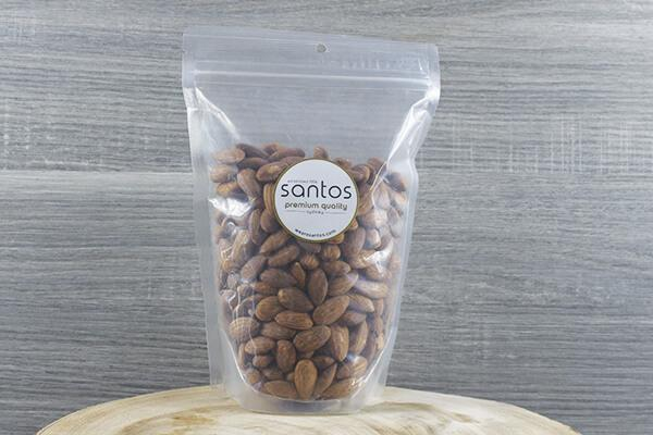 Santos Santos Smoked Almonds 500g Pantry > Dried Fruit & Nuts