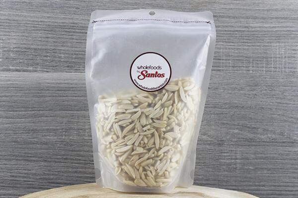 Santos Silvered Almonds 300g Pantry > Dried Fruit & Nuts