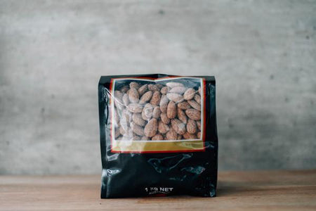 Santos Smoked Almonds 1kg Pantry > Dried Fruit & Nuts