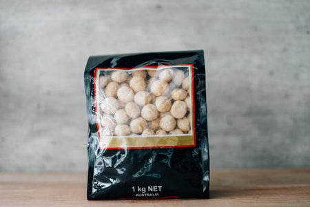 Santos Unsalted Macadamias 1kg Pantry > Dried Fruit & Nuts