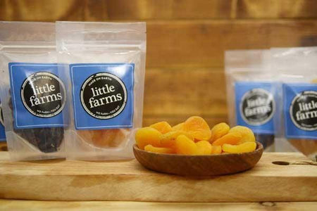 Santos Whole Pitted Apricots 120g Pantry > Dried Fruit & Nuts
