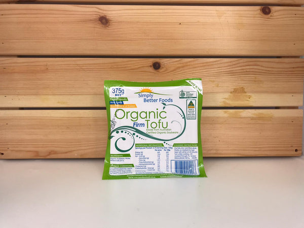 Simply Better Simply Better Organic Tofu 375g Dairy & Eggs > Dairy Alternatives