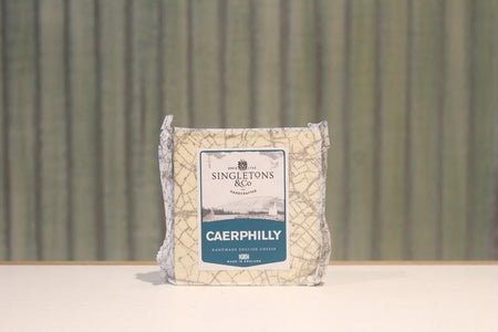 Singletons & Co Caerphilly Cheese 200g Dairy & Eggs > Cheese