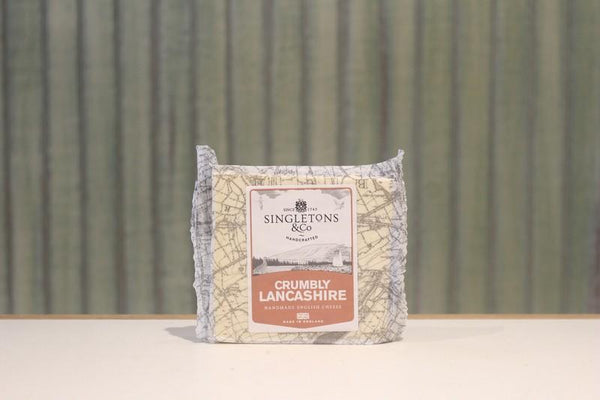 Singletons & Co Crumbly Lancashire Cheese 200g Dairy & Eggs > Cheese