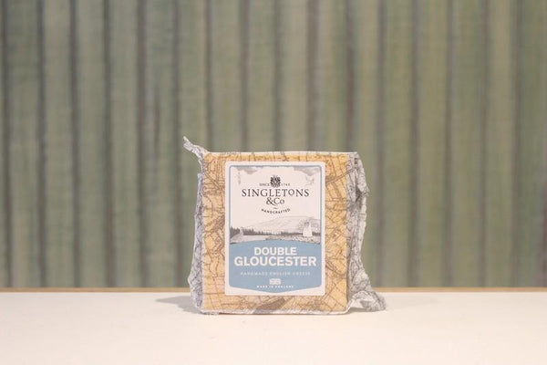Singletons & Co Double Gloucester Cheese 200g Dairy & Eggs > Cheese
