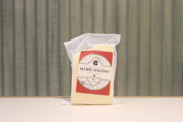 Singletons & Co Famously Strong Grandma Singleton Lancashire Cheese 150g Dairy & Eggs > Cheese