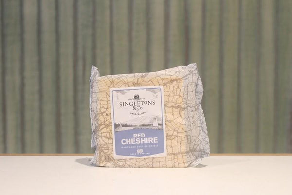Singletons & Co Red Cheshire Cheese 200g Dairy & Eggs > Cheese
