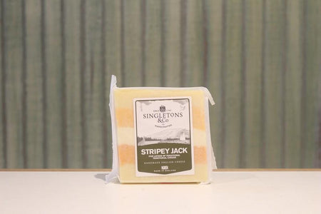 Singletons & Co Stripy Jack Cheese 200g Dairy & Eggs > Cheese