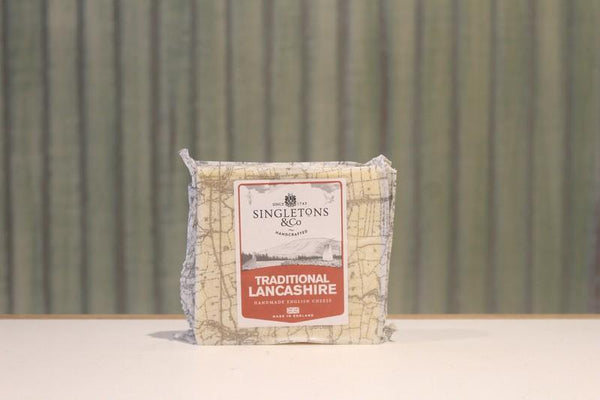 Singletons & Co Traditional Lancashire Cheese 200g Dairy & Eggs > Cheese