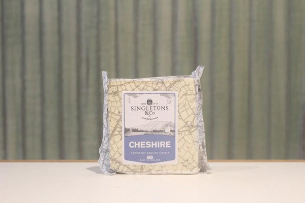 Singletons & Co White Cheshire Cheese 200g Dairy & Eggs > Cheese