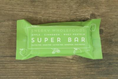 Sneaky Wholefoods Apple Cinnamon Superbar Pantry > Granola, Cereal, Oats & Bars