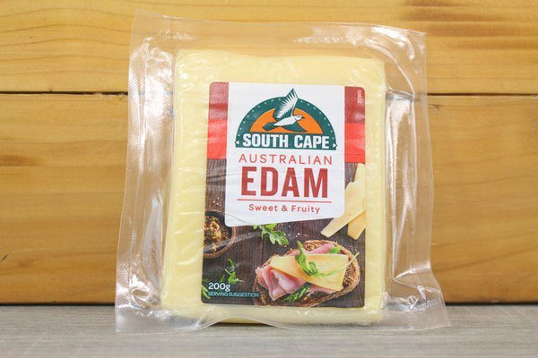 South Cape Australian Edam 200g (6) Dairy & Eggs > Cheese
